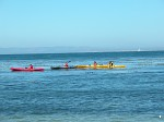 Kayaking in Monterey Bay, California