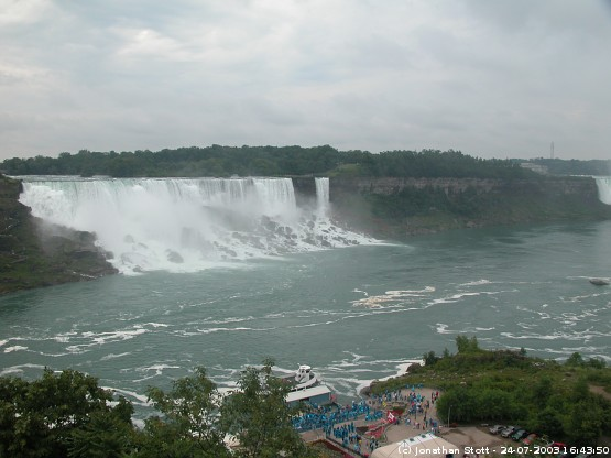 Niagara Falls from the Canadian side