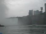 Niagara Falls from the Maid of the Mist boat trip