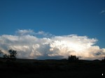 Cumulus cloud developing in southern Idaho