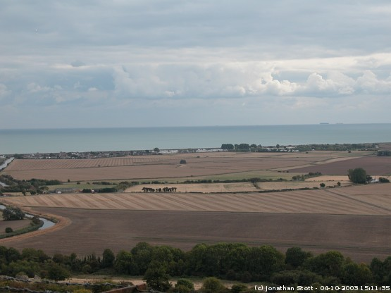 Romney Marsh from Port Lympne
