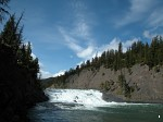 Bow Falls in Banff