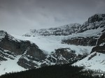 Crowfoot Glacier from the Icefields Parkway