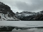 Hector Lake on the Icefields Parkway