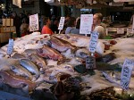 Fish stall at Pike Place Market, Seattle