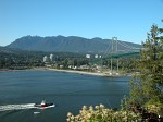 Lions Gate Bridge from Stanley Park, Vancouver