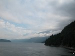 On the ferry trip to Vancouver Island