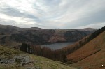Thirlmere from the path above Wythburn