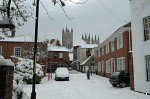 Canterbury Cathedral from St. Alphege Lane