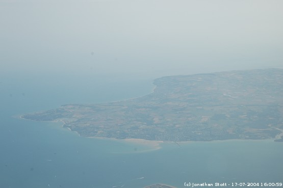 Eastern end of the Isle of Wight - Ryde, Bembridge, Sandown and Shanklin