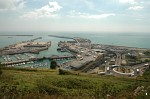 Dover Western Docks from St. Martin's Battery