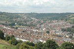 Clarendon and Tower Hamlets, Dover, from Western Heights