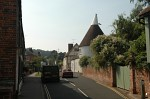 Fordwich High Street and oast house