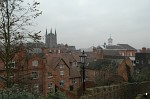 Tamworth from the Castle
