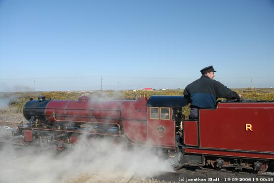 Romney, Hythe and Dymchurch Railway at Dungeness