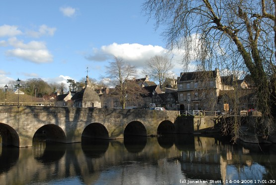 Town Bridge over the River Avon, Bradford-on-Avon