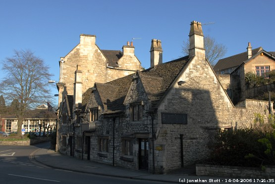 Buildings on the corner of Bridge Street and St. Margaret's Street, Bradford-on-Avon