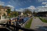 Kennet and Avon Canal Lock in Bradford-on-Avon, Wiltshire