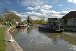 Kennet and Avon Canal at Bradford-on-Avon, Wiltshire