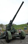 Anti-aircraft gun at Dover Castle