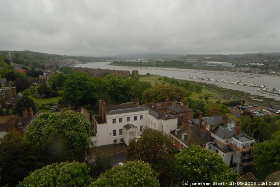 River Medway from Rochester Castle