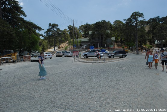 Troodos Square, Cyprus