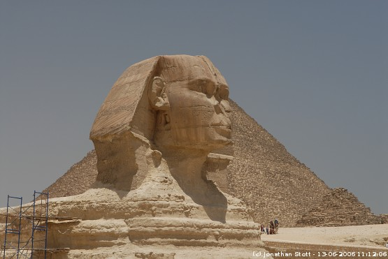 The Great Sphinx, Giza, Egypt