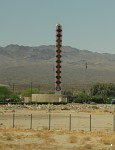 World's tallest thermometer in Baker, California