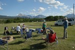 Campsite at St. Mary, Montana
