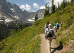 Trail to Iceberg Lake, Glacier National Park