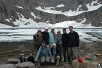 Group at Iceberg Lake, Glacier National Park