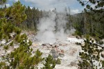 Steamboat Geyser, Norris Geyser Basin, Yellowstone National Park