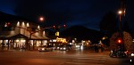 Nighttime in Jackson, Wyoming