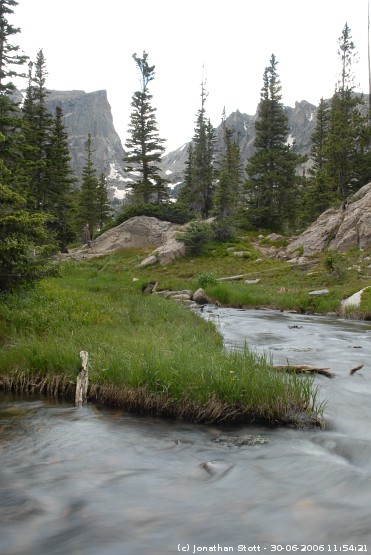 Stream near Emerald Lake, Rocky Mountain National Park