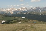 View from Gore Range, Rocky Mountain National Park