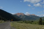 Red Mountain Pass on the road between Ouray and Silverton, Colorado