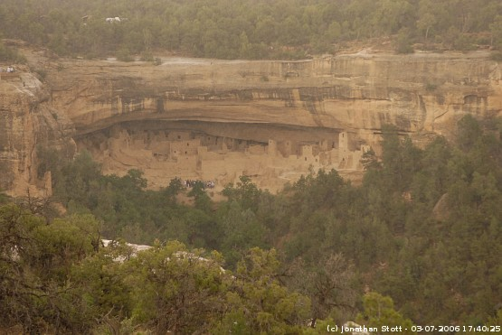 Cliff Palace Overlook, Mesa Verde National Park, Colorado