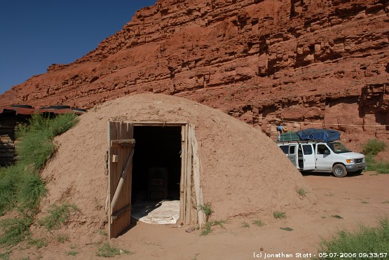 Betty and Rusty's Cowboy Camp, Mexican Hat, Utah