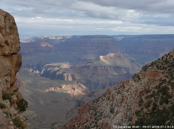 View from the South Kaibab Trail, Grand Canyon National Park, Arizona