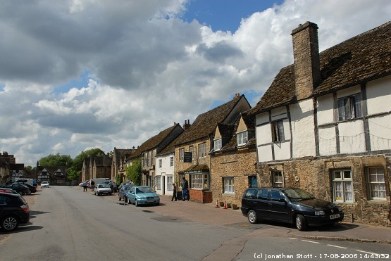 High Street, Lacock, Wiltshire