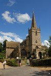 Lacock church, Wiltshire