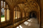 Cloisters at Lacock Abbey, Wiltshire