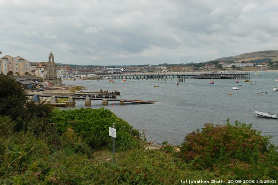 Swanage, Dorset from Peveril Point