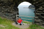 Landing Gate, Tintagel Castle, Cornwall