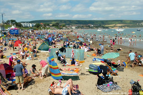 Swanage beach, Dorset